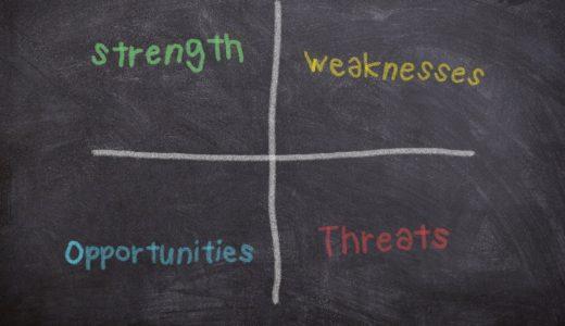 【実践で使える!】SWOT分析のやり方を徹底解説する!!【考え抜くことが超重要】